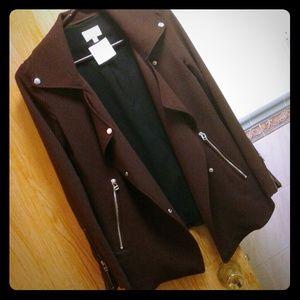 Plum Moto Jacket (XXS)